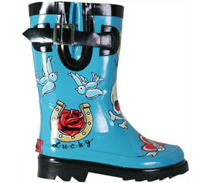 Wsc005chookatattoocityrainbootslg